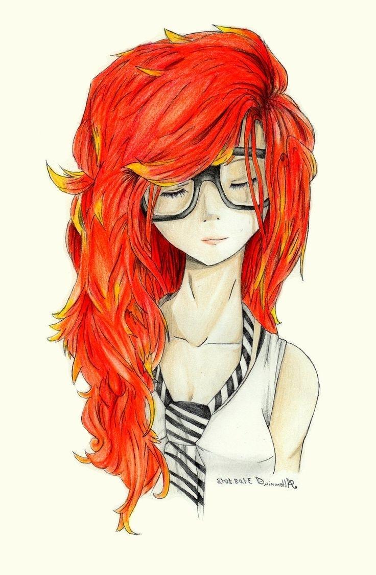 736x1124 Hipster Girl Drawing Tumblr