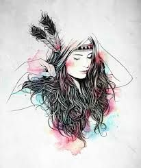 206x245 Hipster Girl Drawing Tumblr