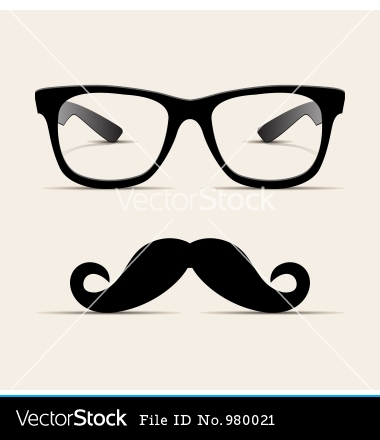 380x440 Hipster Glasses Drawing Clipart Panda