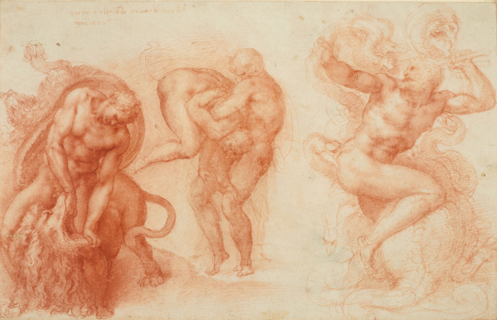 710x458 Michelangelo Exploded Art History, Just With His Drawing