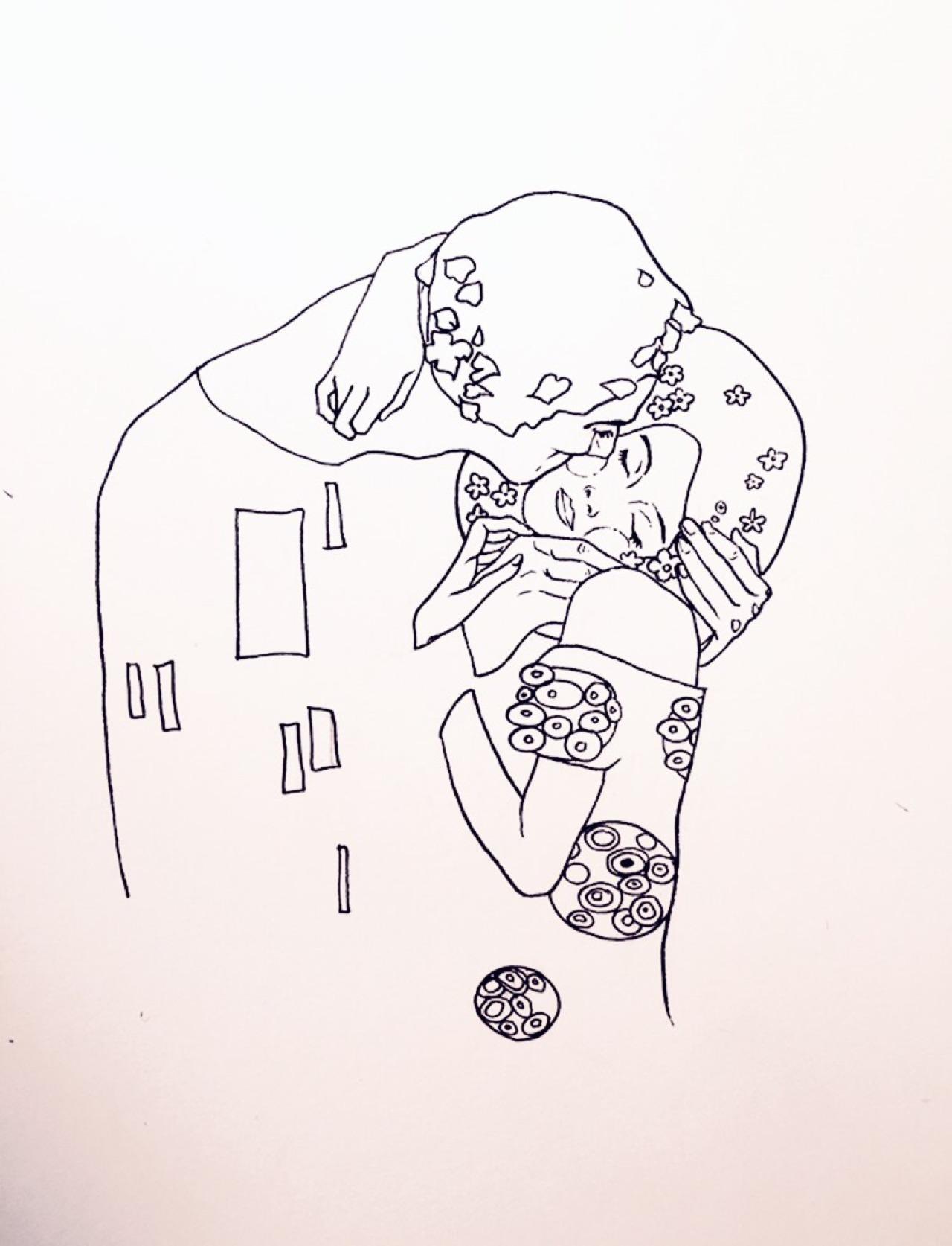 1280x1674 Love Drawing Illustration Art Couple Painting Design Romance