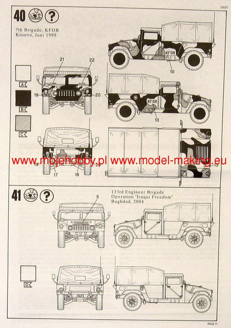 793x1123 Hmmwv M998 M1025 Revell 03137