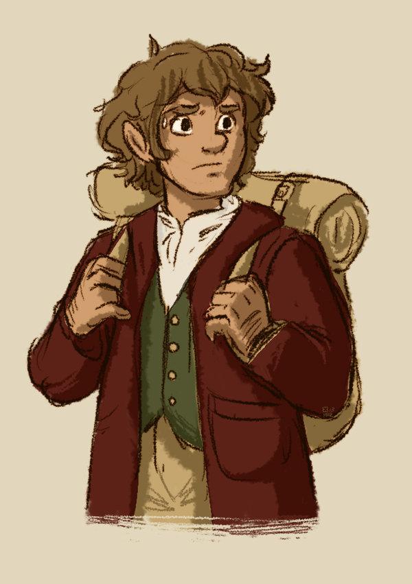 600x851 Bilbo By Stressedjenny