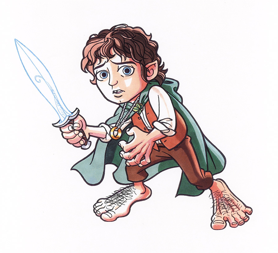 900x820 Hobbit Hero By Jerome K Moore
