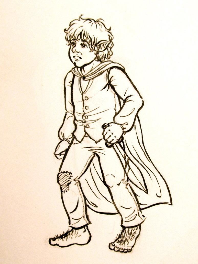 774x1032 Bilbo The Hobbit By Aubreespassions