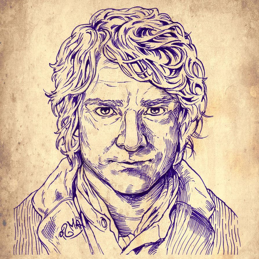 894x894 The Hobbit, Bilbo Baggins By Ismacomics
