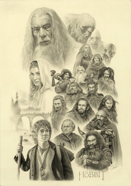 500x707 The Hobbit
