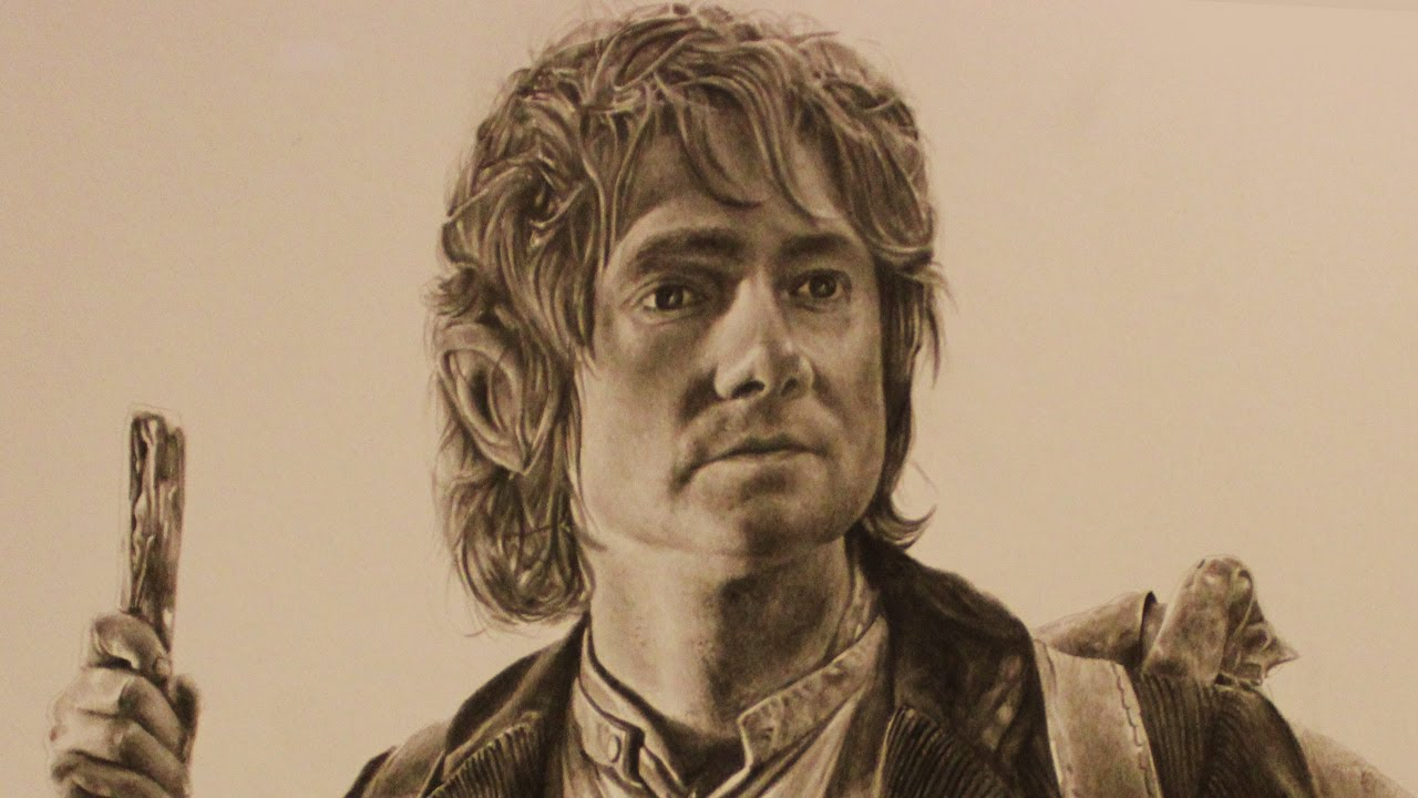1280x720 The Hobbit 2012 Speed Drawing