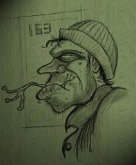 197x240 Jawbone Radio Hobo Drawing Is Back Baby!