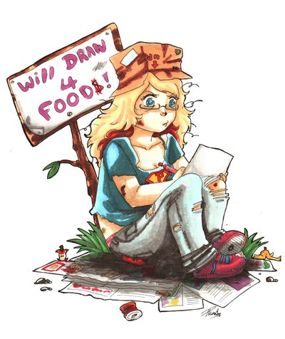 400x476 Hobo Pakou Will Draw For Food By Mmystery