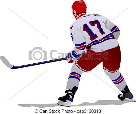 450x376 Ice Hockey Players Vectors