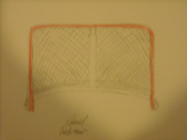 Line Drawing Net : Hockey net drawing at getdrawings.com free for personal use
