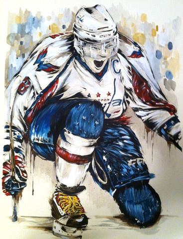 367x480 34 Best Hockey Art Images On Sports Art, Hockey