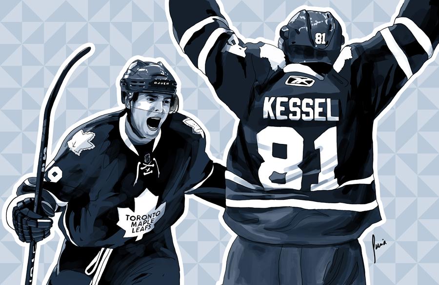900x586 Hockey Players Toronto Maple Leafs By Edersuria