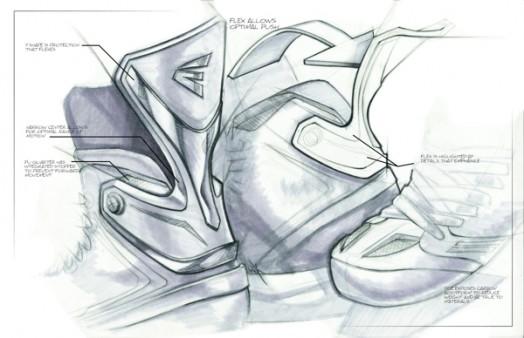 524x338 Easton Mako Hockey Skates By Will Keegan 9. Sketch