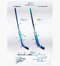 210x230 Hockey Stick Drawing Posters Redbubble