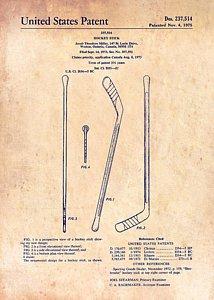 214x300 Hockey Stick Drawings Fine Art America