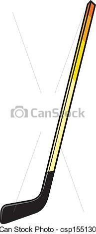 193x470 Hockey Stick Vector Clipart