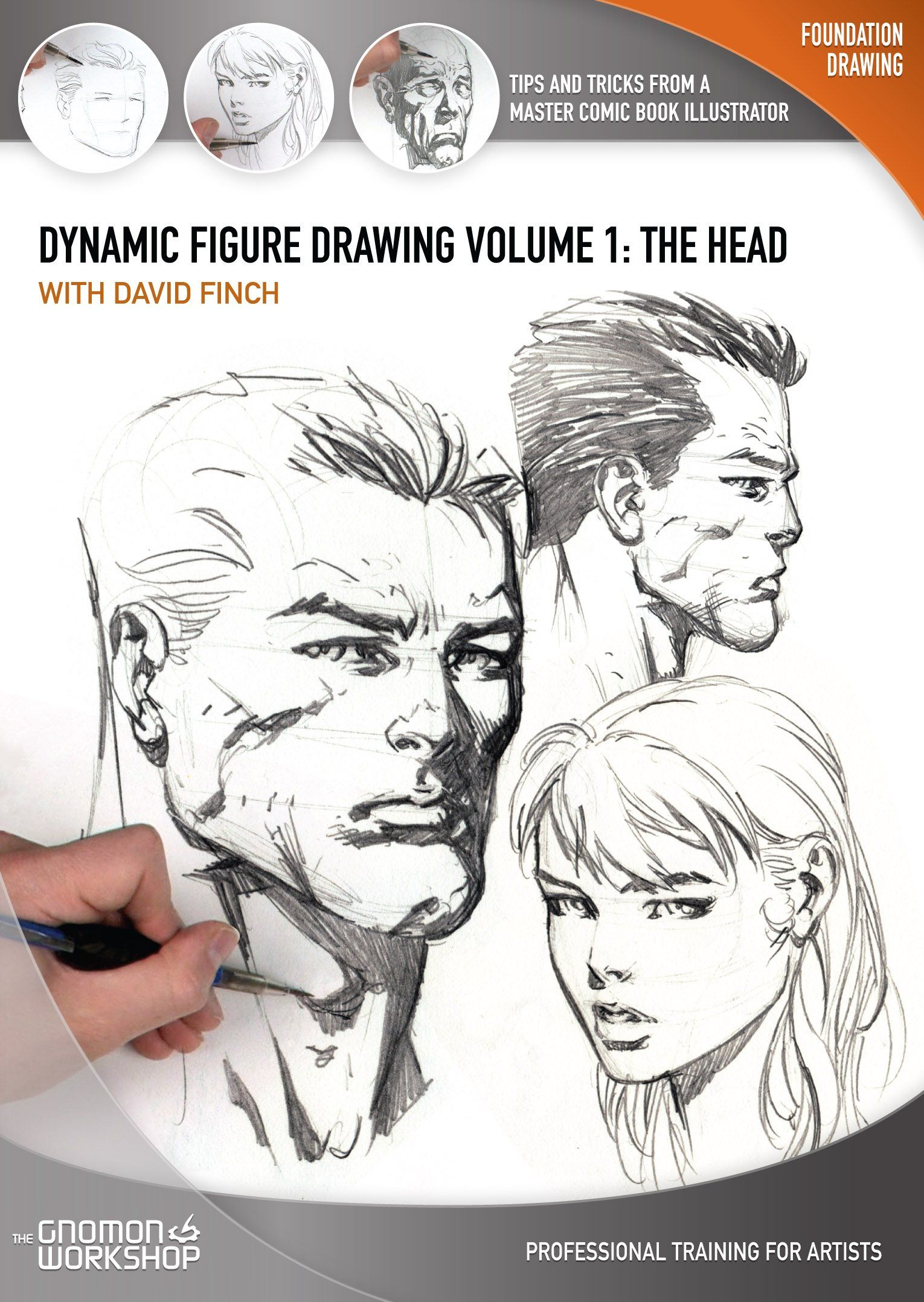 1530x2156 Dynamic Figure Drawing The Head [Interactive Dvd