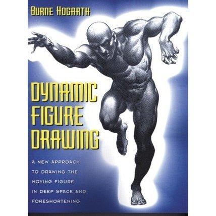 428x428 Dynamic Figure Drawing By Burne Hogarth