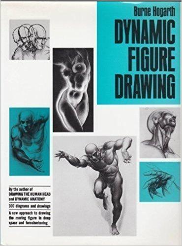 370x499 Dynamic Figure Drawing By Hogarth, Burne (1970) Hardcover Burne