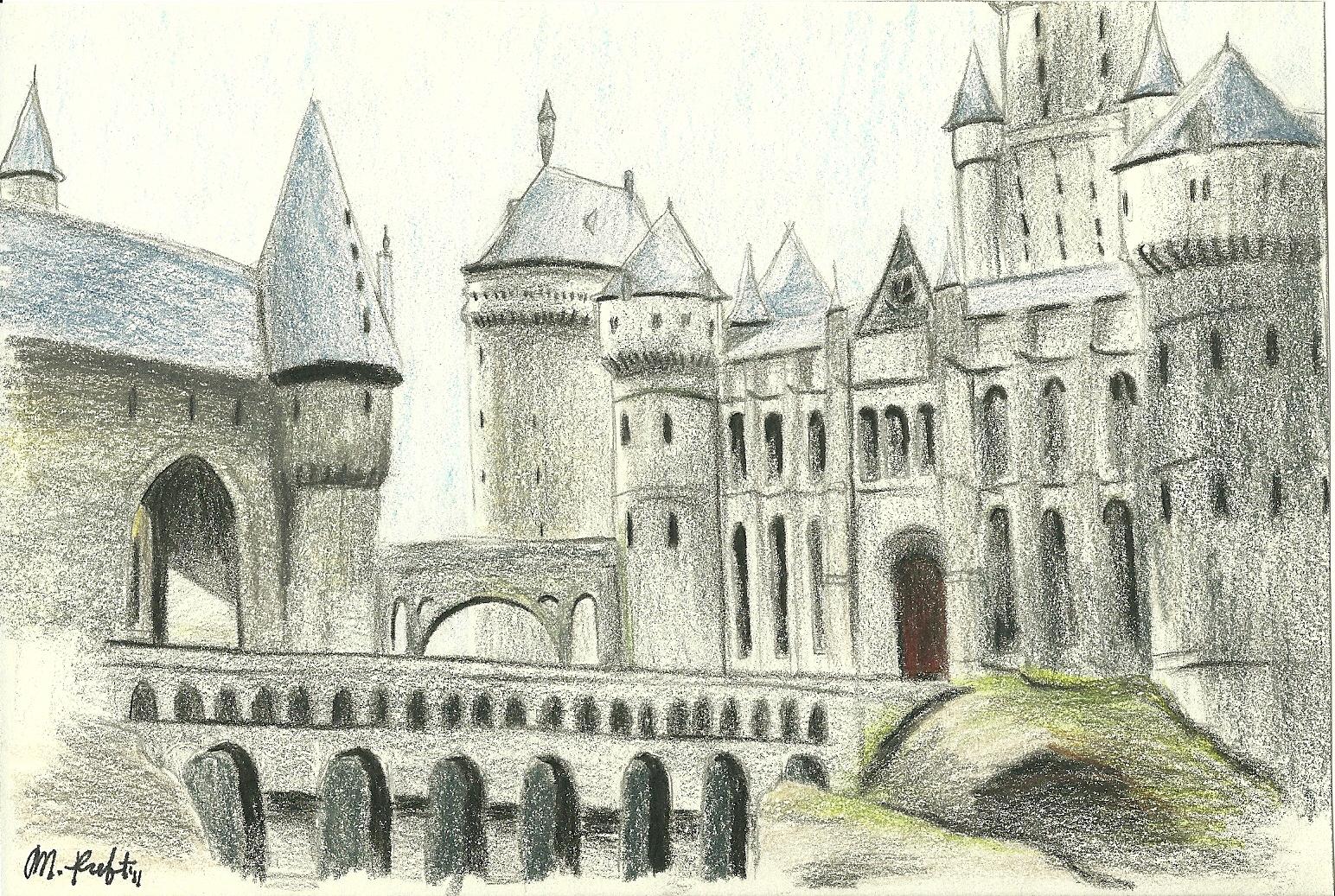 1544x1037 Hogwarts Castle By Shelbygt 500kr
