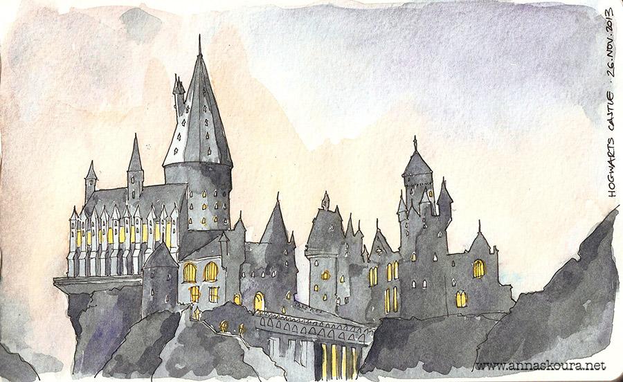 900x552 Hogwarts Castle By Zoopaki