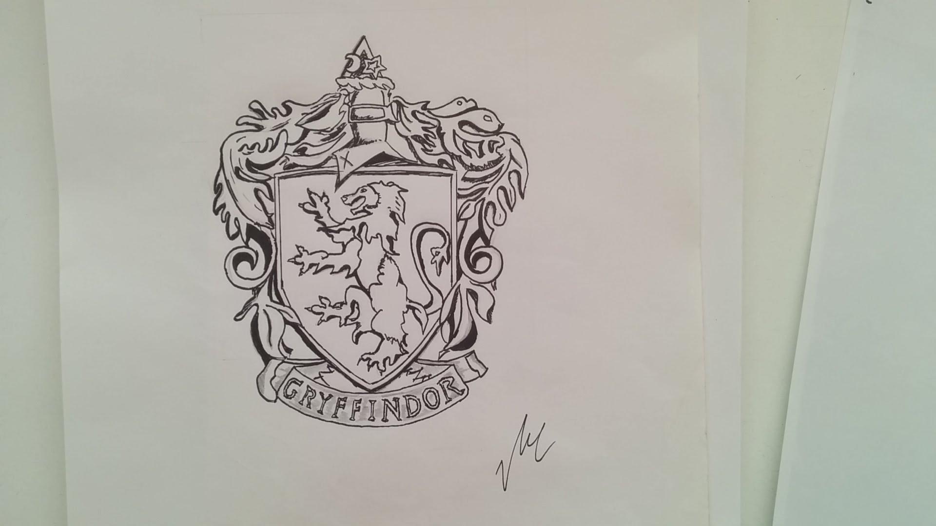 1920x1080 Gryffindor Emblem