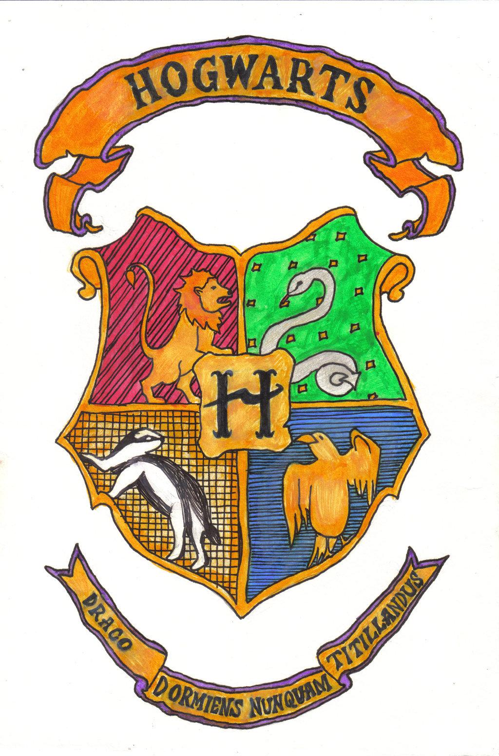 1024x1552 Hogwarts Crest By Debstar85