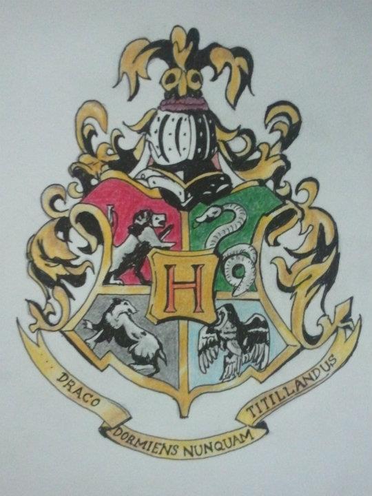 540x720 Hogwarts Crest By Defty135