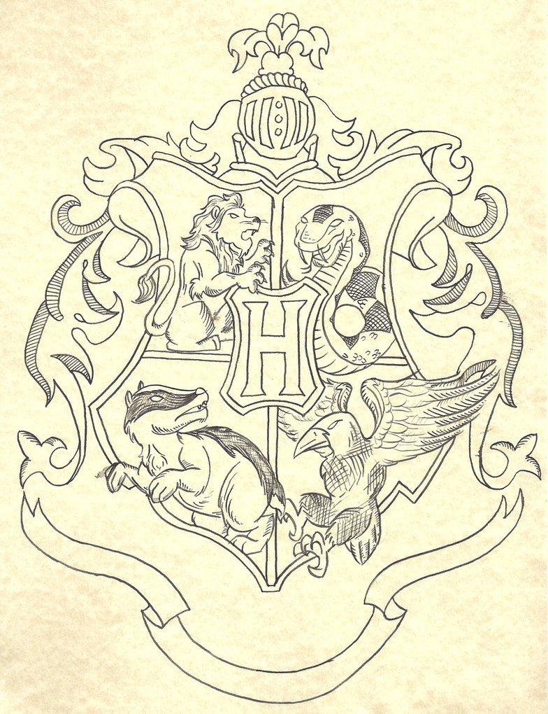 784x1020 Hogwarts Crest By Skip27