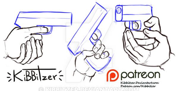 600x307 Holding Gun Reference Sheet By Kibbitzer