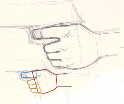 400x337 How To Draw Hand Holding Gun Digital Painting And Drawing Video