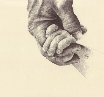 350x325 Holding Hands Pencil Drawing Drawing Tegninger