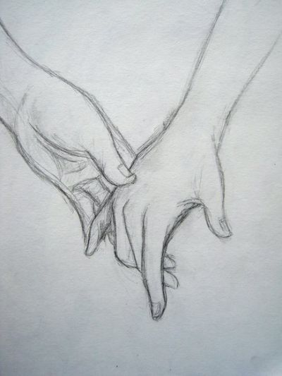 400x533 Drawings Of Couples Holding Hands Doodles Couple