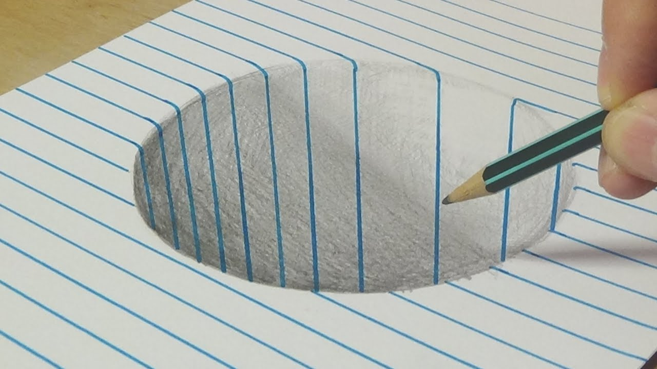 1280x720 Drawing A Round Hole