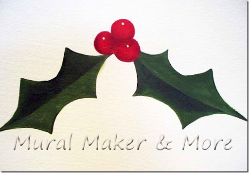 512x356 How To Paint (And Draw) Holly And Berries