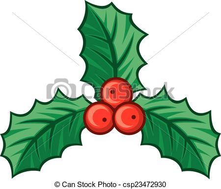 450x385 Christmas Holly Berry Symbol, Christmas Decoration Vectors