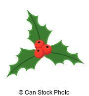 180x195 Holly Berry Christmas Symbol Icon Vectors