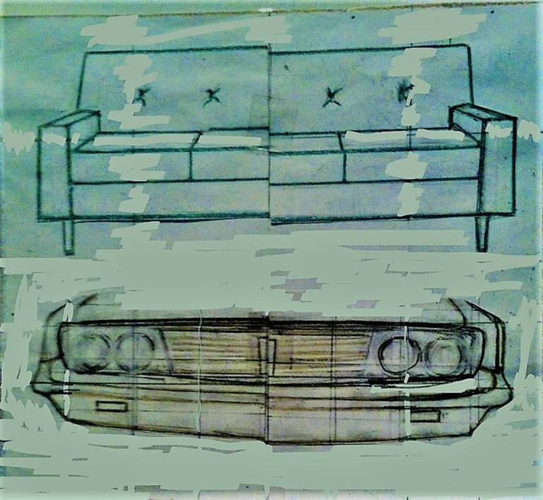 770x709 Saatchi Art Pie In The Sky Casting Couch Dreams Of Fantasy