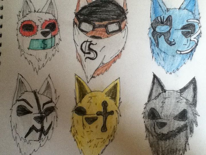 720x540 Hollywood Undead Wolves By Kaiwolfeh
