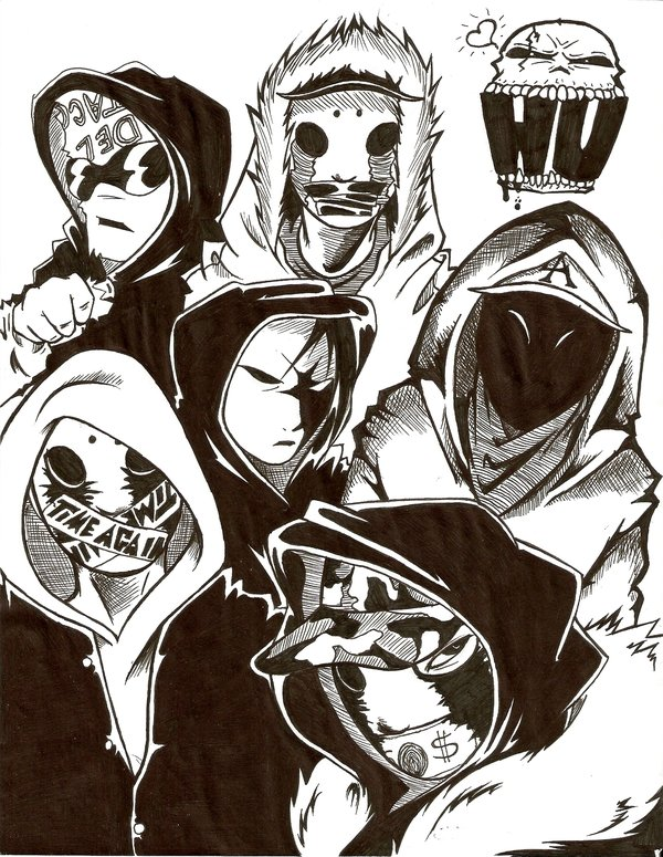 600x775 Hollywood Undead By Dna444