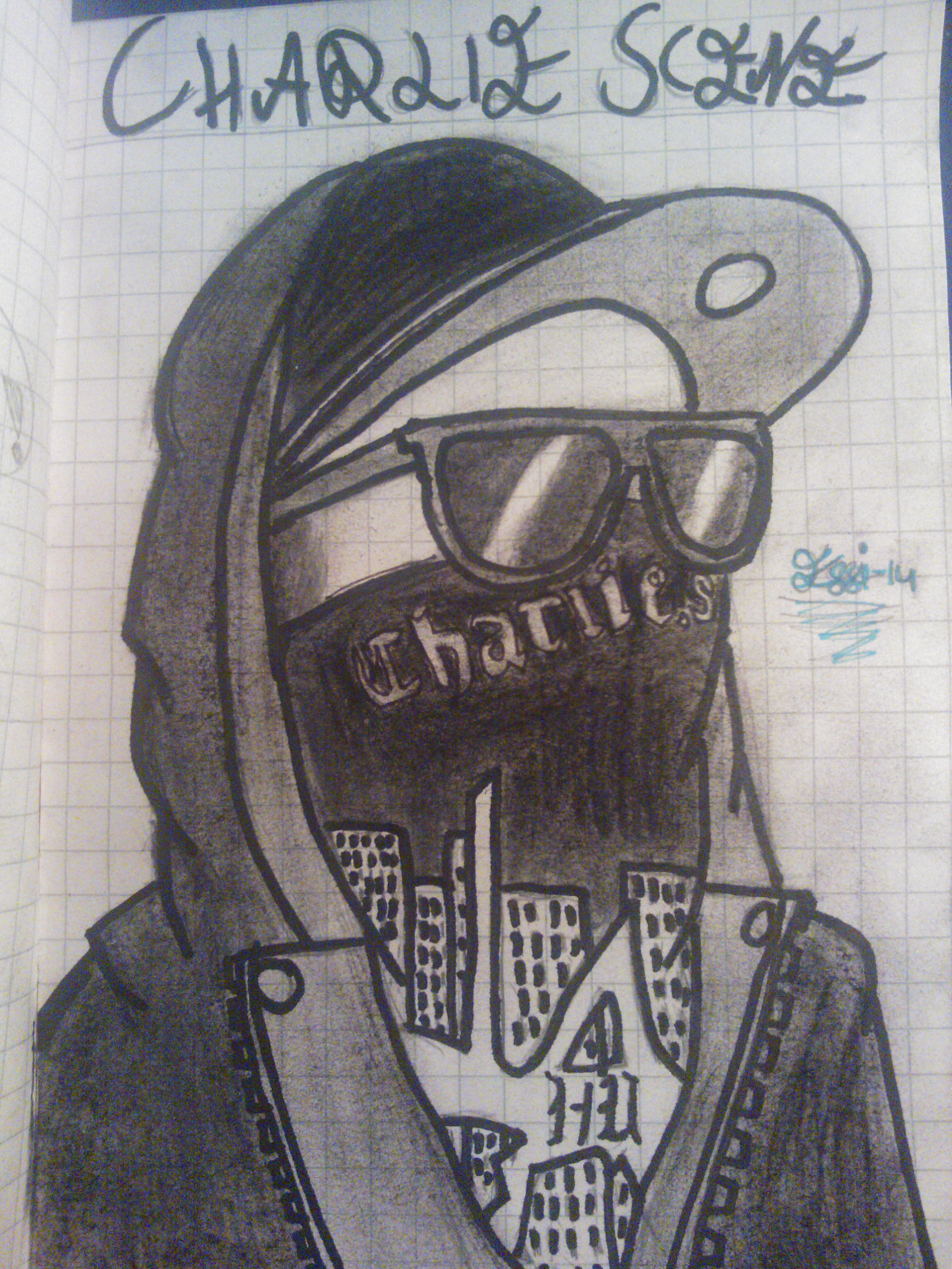 2448x3264 My Favorite Member From Hollywood Undead Drawings