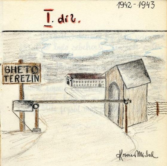 559x556 Drawing The Holocaust A Teenager's Memory Of Birkenau