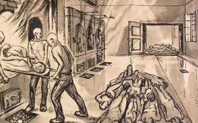 640x400 Poland Acquires Gas Chamber Paintings By Late Holocaust Survivor