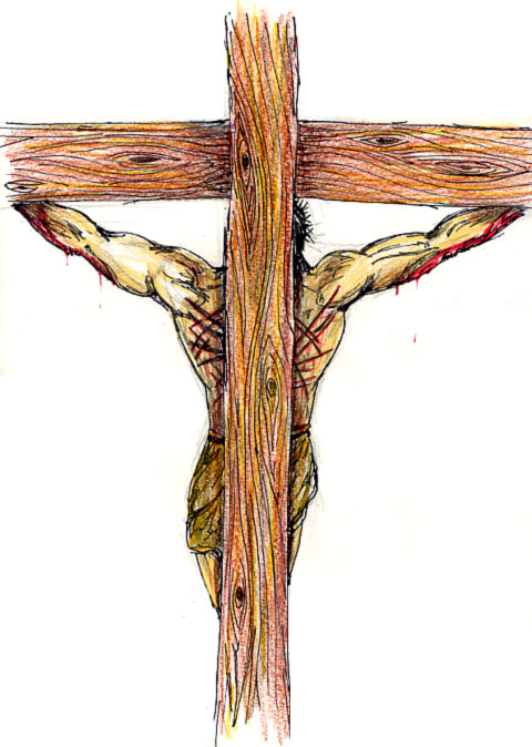 480x674 Holy Cross Jesus Drawing Merry Christmas Amp Happy New Year Arts