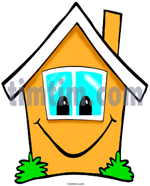 572x707 Free Drawing Of A Happy House 2 From The Category Building Home