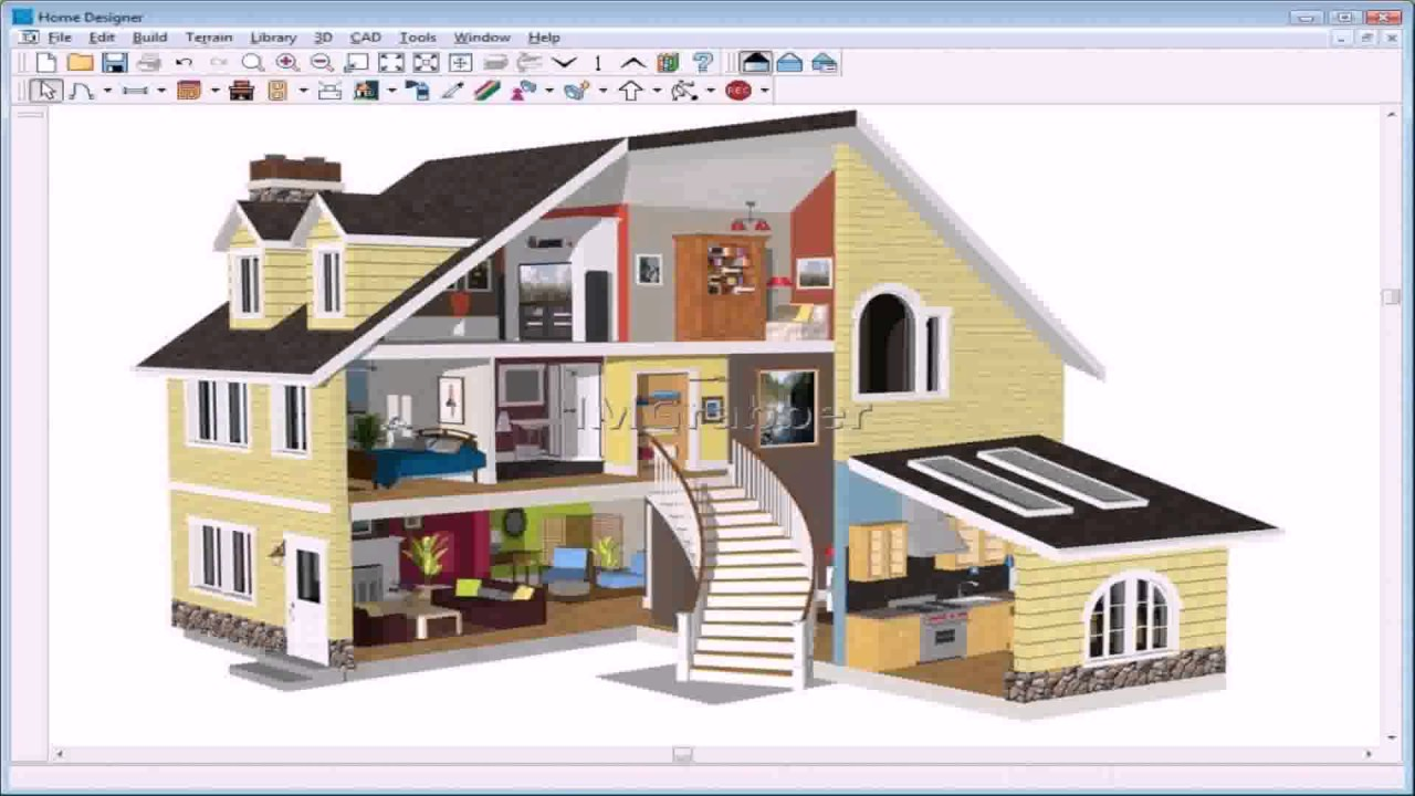 Nice 1280x720 3d House Design App Free Download