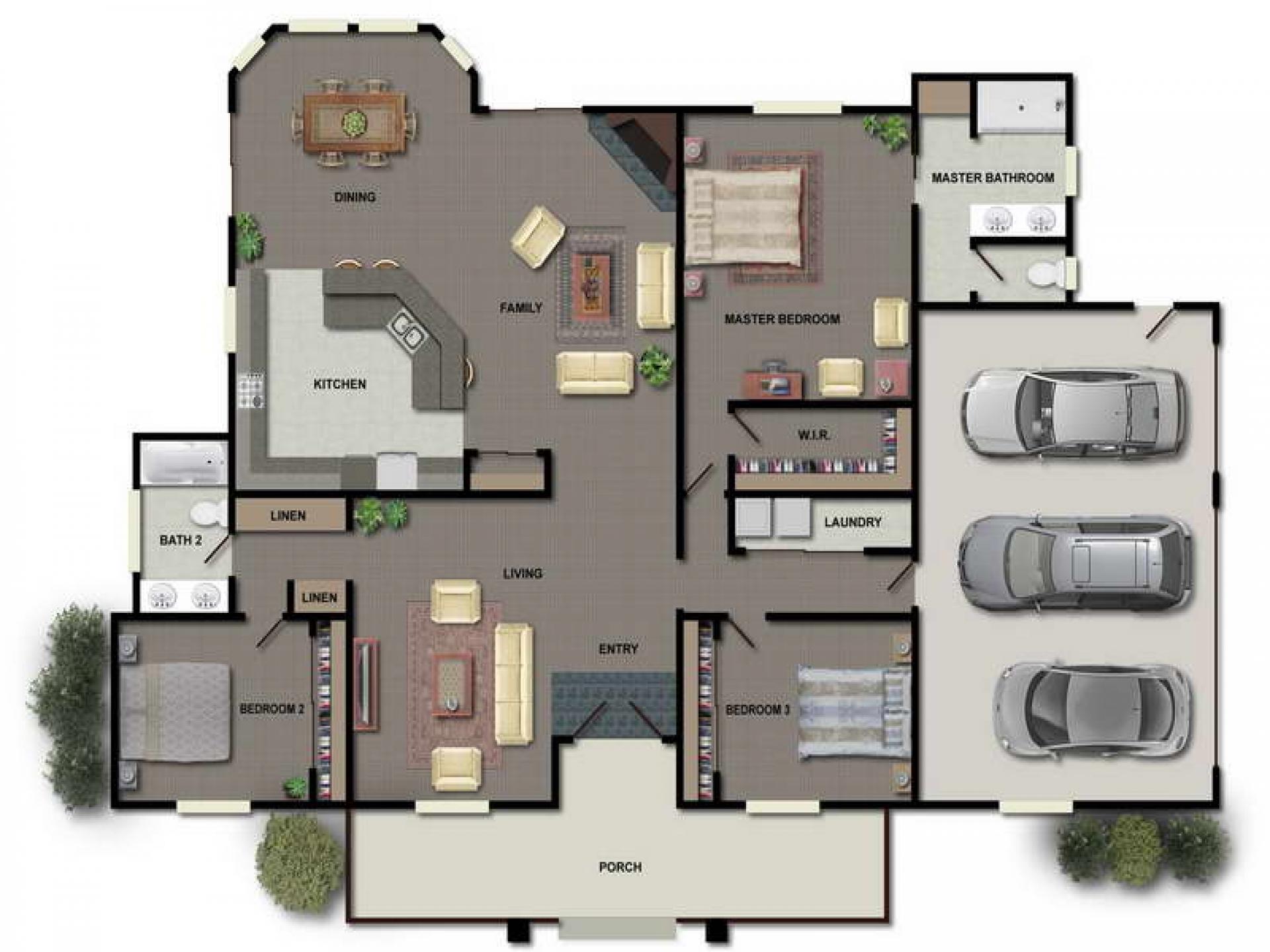 1920x1440 Architectural Designs Contemporary Plans Clipgoo House Interior