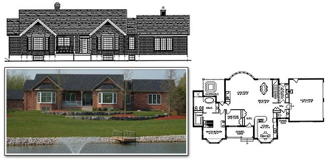 668x326 Enchanting House Drawings And Plans Free Images